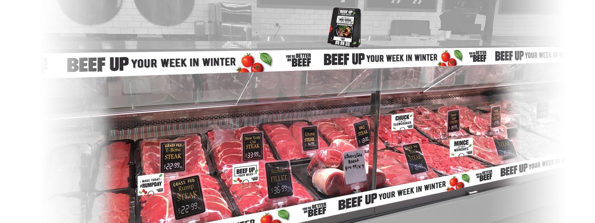 work MLA beef fridge