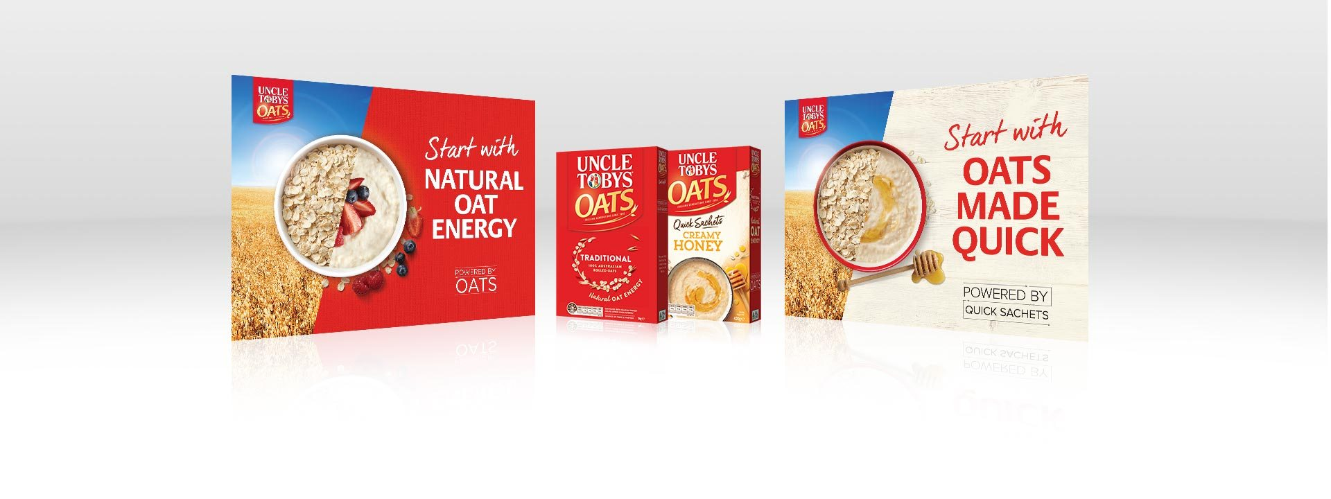 Nestle Uncle Tobys Oats 2018 KV packs