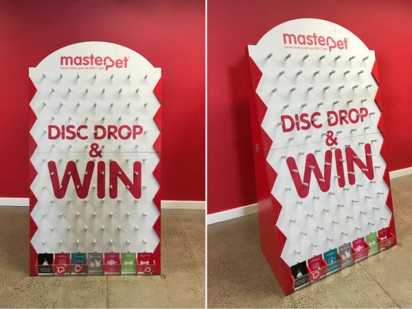 MasterPet Disc Drop Game