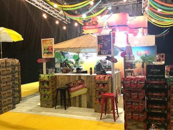 PepsiCo Woolworths Trade Show Expo Stand