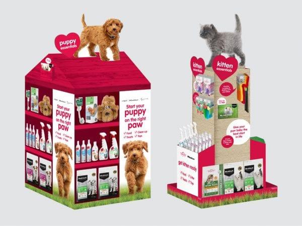 MasterPet Puppy & Kitten Displays
