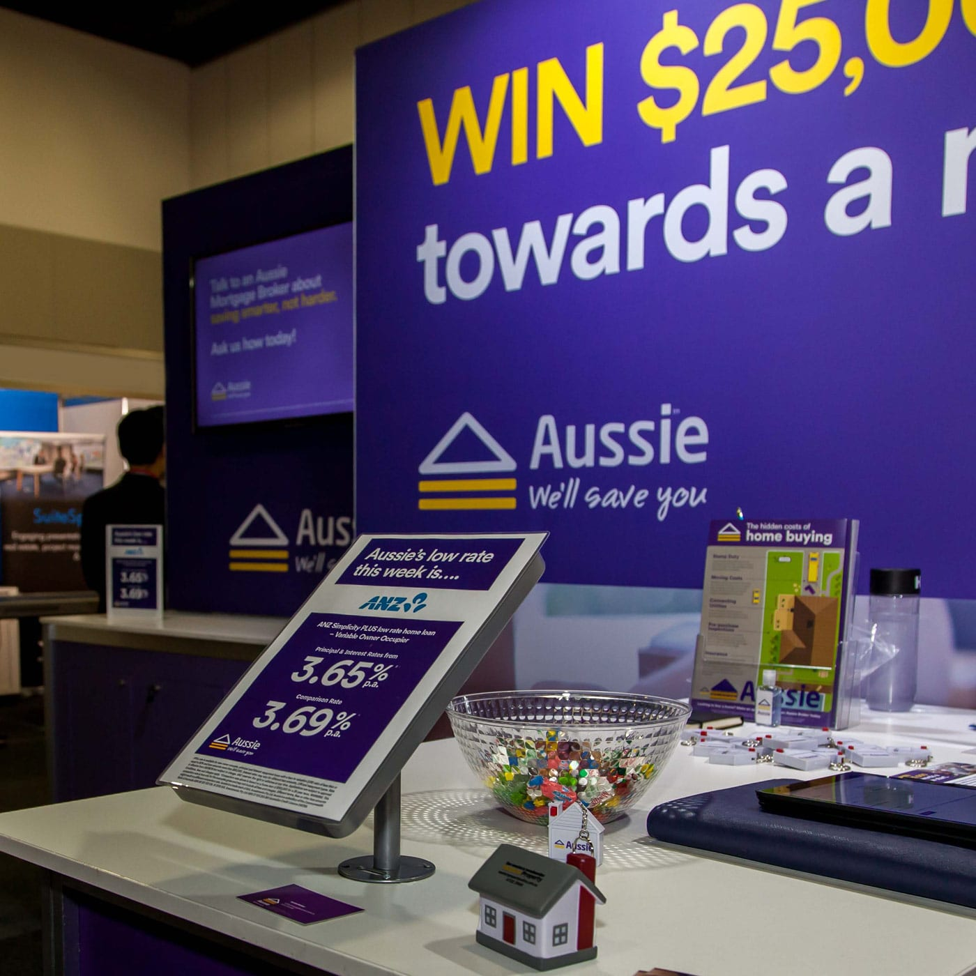 31st Aussie Home Loans Expo stand and promo tile