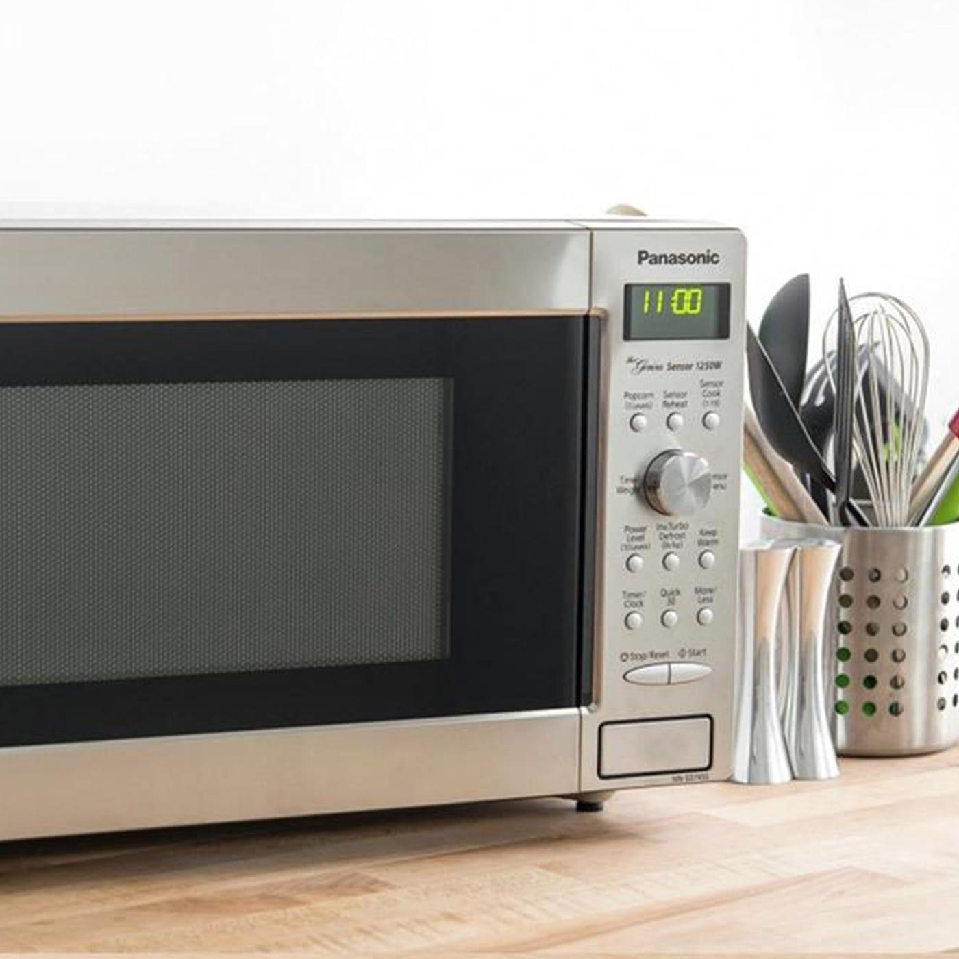31st Panasonic Microwave instore POS tile