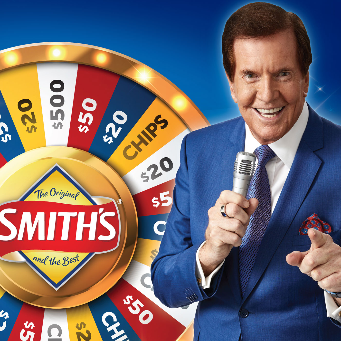 31st Smiths Spin to Win promotion tile