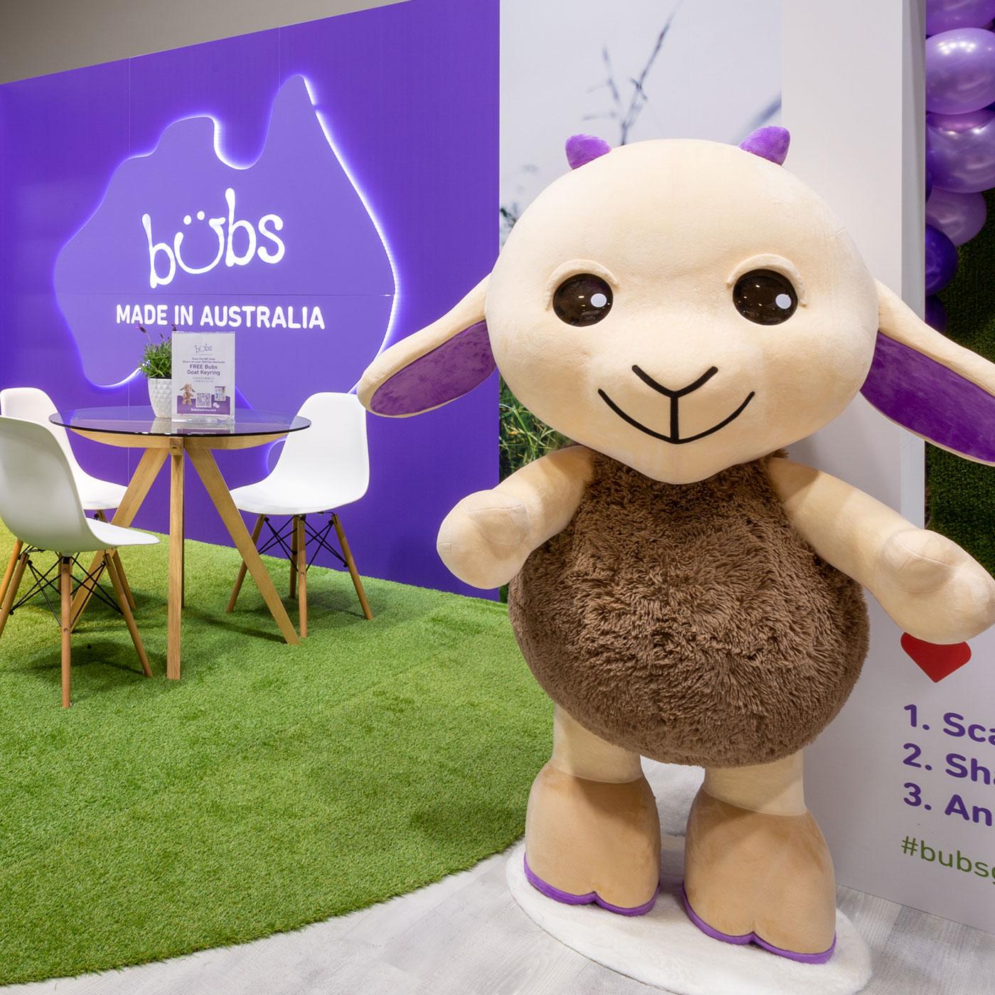 31st Bubs Australia expo stand tile