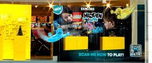 31st LEGO hidden side window display