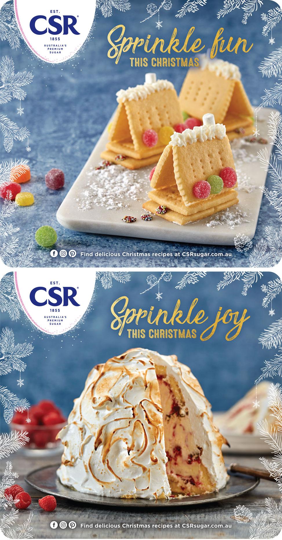 31st CSR Sugar Christmas 2019 Key visuals