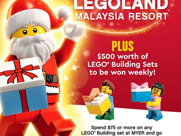 LEGO Christmas at MYER