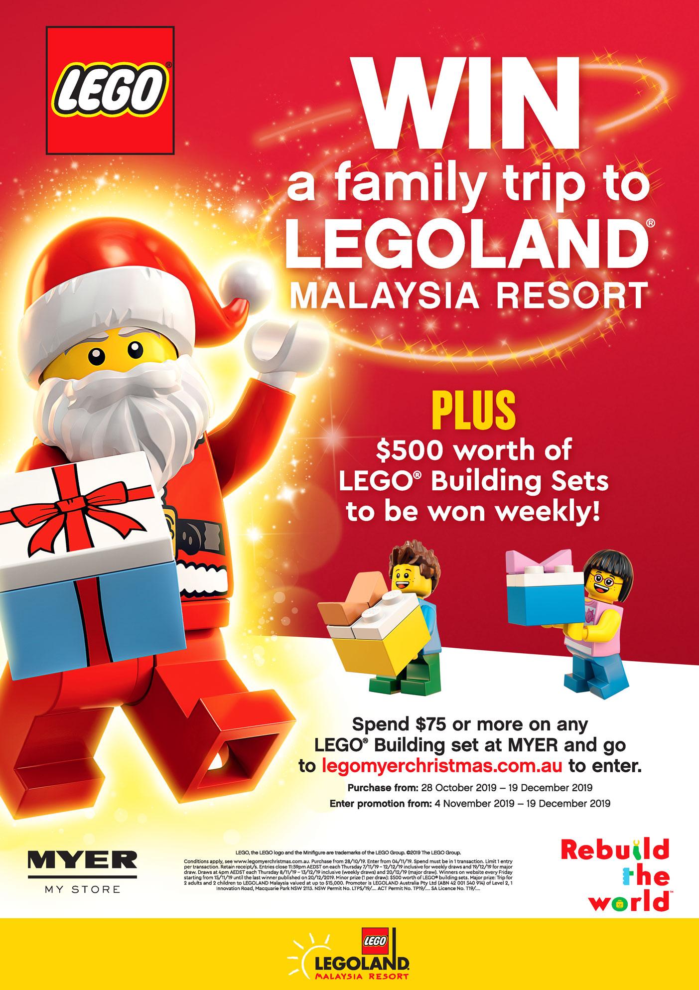 31st LEGO Christmas 2019 Key Visual