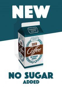 31st Farmers Union Iced Coffee No Sugar Added key visual