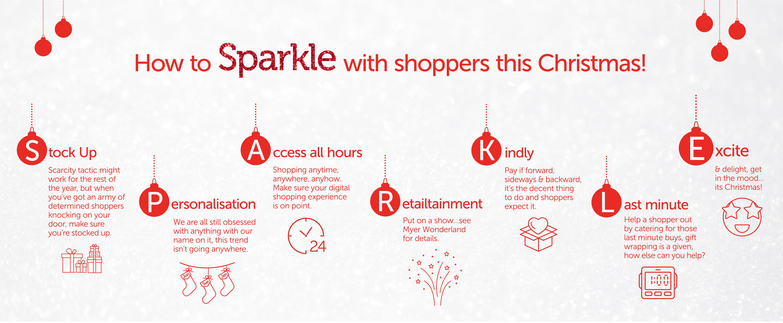 31ST sparkle this christmas infographic