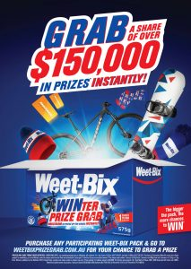 31st Weet-Bix Winter Promotion Poster